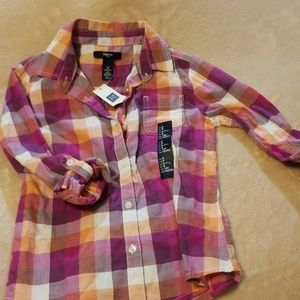 Gap kids button down shirt